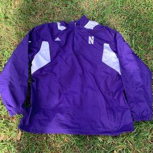 Adidas collegiate Northwestern university jacket